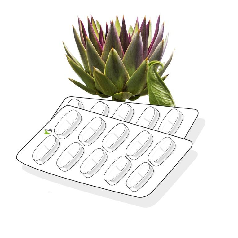 Artichoke leaf tablet