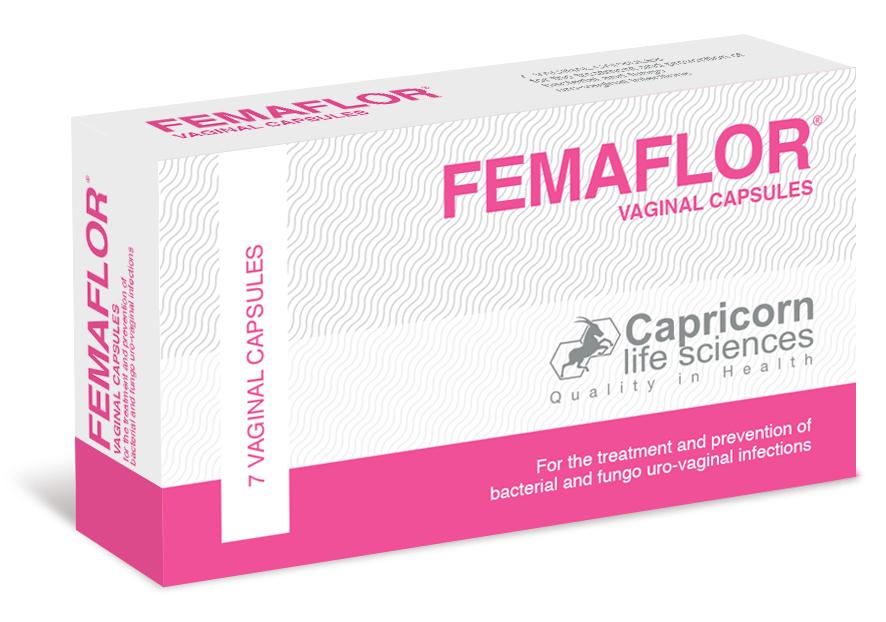 FEMAFLOR vaginal capsules