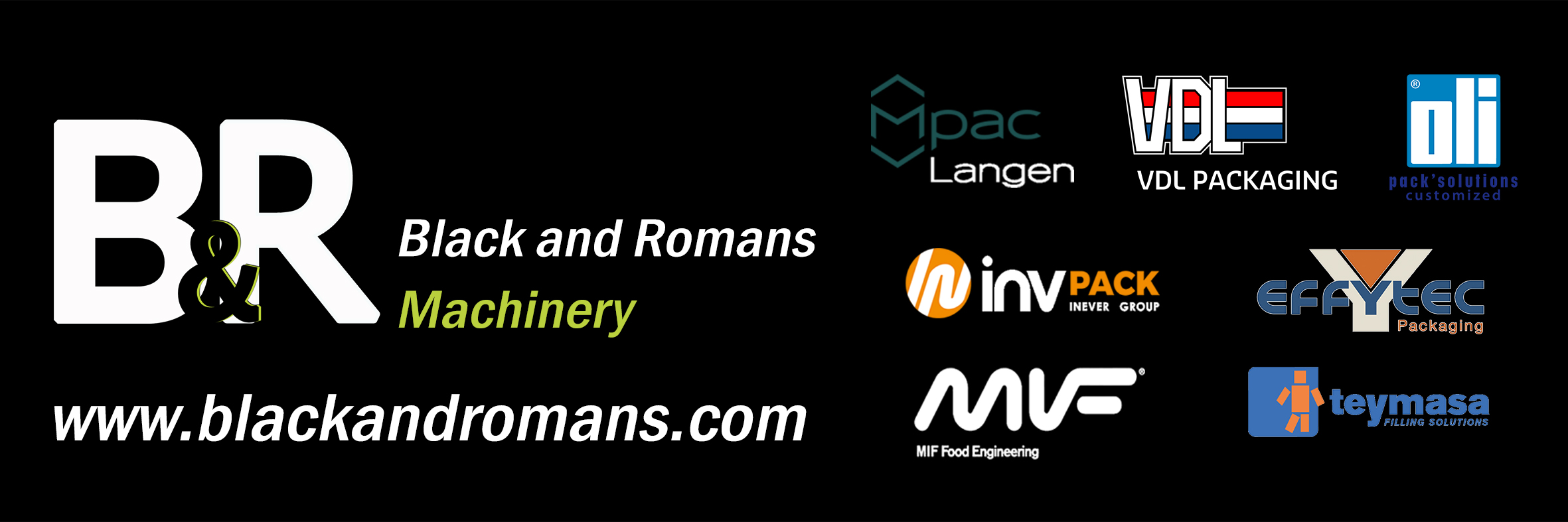 Black and Romans Machinery